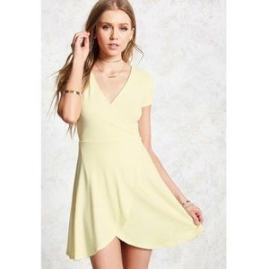 Heathered Skater Dress